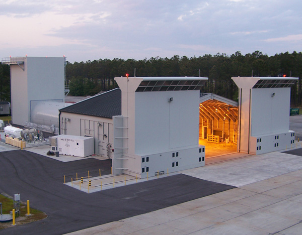MCAS Beaufort Aircraft Acoustical Enclosure - Marine Corp Air Station Beaufort, SC