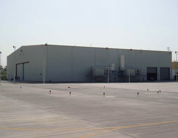 Embassy Helicopter Maintenance Facility & Landing Zone - Baghdad, Iraq